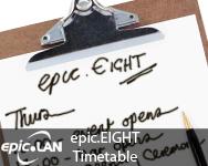 epic.EIGHT Fun Timetable