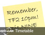 epic.NINE Timetable