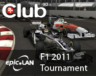 F1 2011 with Club 3D